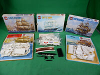 vintage Airfix Kit Lot - Revenge , Cutty Sark , H.M.S. Victory - alle in Box