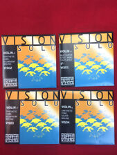 Thomastik Vision Solo Violin String Set / Aluminum D 4/4 Ship fast!