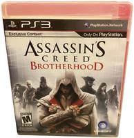 Assassins Creed Brotherhood  PS3 PlayStation 3 Game
