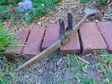Unusual primitive Miners Pick Axe, tool, ore, hammer, sledge, wedge, early, neat