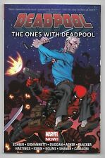 DEADPOOL THE ONES WITH DEADPOOL / SCHEER , DUGGAN / MARVEL COMICS - V.O ANGLAIS