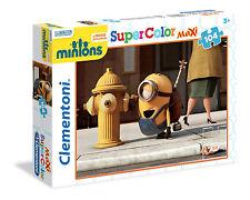 Clementoni Kinderpuzzle 104T. Maxi Minions: Ich-Einfach unverbesserlich (23685)