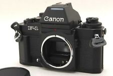 [ Top Mint ] Canon New F-1 AE Finder 35mm SLR Film Camera Black Japan 304479