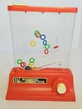 Vintage 1976 TOMY The Wonderful Waterful Ring Toss Game Made in Japan Colorful