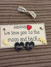 Mum, Nanna,plaque - Gift Wrapped, Gift Idea, Mothers Day Gift, Nanny Gift
