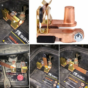 Brass Blade Switch 12V 24V Heavy Duty Bus Truck Lorry Battery Disconnect Switch