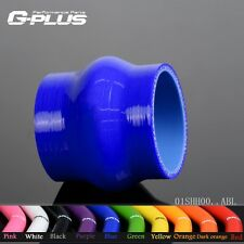 """1 1/2"""" 38mm Hump Straight Silicone Hose Intercooler Coupler Tube Pipe  BL"""