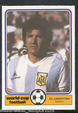 Monty Gum World Cup 1982 Football Card No 25 - Galvan - Argentina