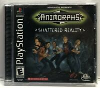 Animorphs: Shattered Reality (Sony PlayStation 1) Complete w/ Manual Tested
