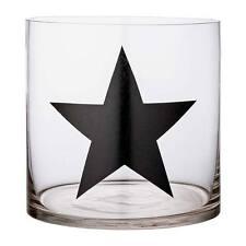 Bloomingville Windlicht Kerzenglas Stern transparent