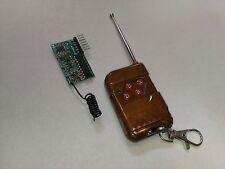 4 Key Wireless RF Remote Control 315MHZ Receiver module for Arduino IC 2262/2272