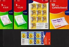 Netherlands - Attractive, recent booklets - Face 17.00 euros