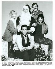 NOT NECESSARILY THE NEWS CHRISTMAS CAST SMILING PORTRAIT ORIGINAL HBO TV PHOTO