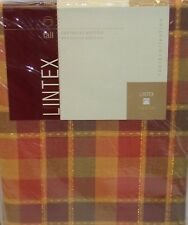 "Lintex Tablecloth ~ Harvest Sunset ~ 70"" Round NEW"