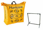 Double Sided Crossbow Archery Bag Target & 30 Inch Bag Target Stand (2 Pack)