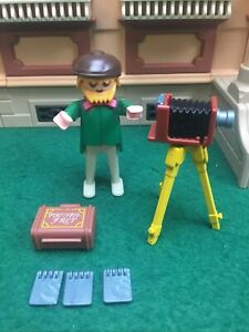 Playmobil 5401 Photographer For victorian 5300