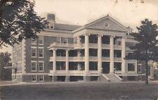 Mason City Iowa~IOOF Odd Fellows Home~Quoins~Bunch of Columns RPPC 1912