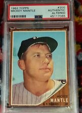 1962 Topps Mickey Mantle #200 PSA Authentic Altered