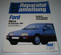 Reparaturanleitung Ford Sierra 2,3 l + 2,8 l V6 Motor + Allrad 4x4 ab 1985 NEU!