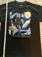 Star Wars Van Gogh Starry Night Large T-shirt