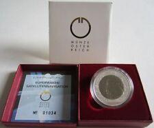 Österreich 25 Euro 2006 Europäische Satellitennavigation Silber Niob