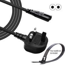 NUOVO! Figura 8 c7 UK 2 Pin cavo di alimentazione elettrica per Singer 9940 MACCHINA PER CUCIRE 9960