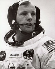 Astronaut Pilot NEIL ARMSTRONG Glossy 8x10 Photo Apollo 11 Print Poster Moon