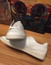 Vintage 80s PONY Athletic Sneakers Skateboard Basketball White Leather Shoes.