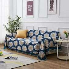 Boho Chrysanthemum Loveseat Sofa Cover for Cushion Couch Cover Dog Kid Protector
