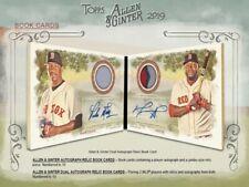 2019 Topps ALLEN & GINTER MLB Baseball Trading Cards 8pk BLASTER Box Sealed CASE