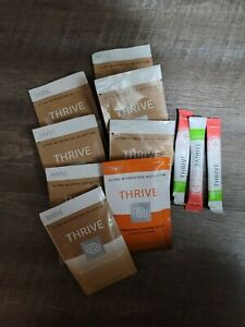 Le-vel Thrive Shakes Lifestyle Mix 8 Packets Dietary Supplement/3 activate  pack