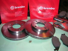 VW Scirocco Rabbit Gti BREMBO Vented + Mintex Red Pads