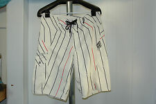 Volcom Board Shorts Swim Trunks Suit LOGO  MODTECH Size  31 ACTUAL 33 X 11 Sale!