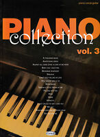 PIANO COLLECTION VOLUME 3 PIANO VOICE & GUITAR POP SHEET MUSIC BOOK