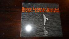 STEVE LANTNER QUARTET GIVEN LIVE IN MUNSTER  HatOLOGY HUT CD SWISS SEALED