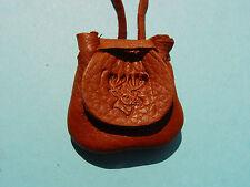 WHITETAIL BUCK Deer Skin Leather Buckskin Necklace Medicine Bag 1011
