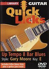 LICK LIBRARY Learn to Play QUICK LICKS GARY MOORE UP TEMPO 8BAR BLUES GUITAR DVD