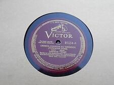 VICTOR RCA MFG.CO.78 RECORD-LAWRENCE TIBBET-TOREADOR SONG-# 8124