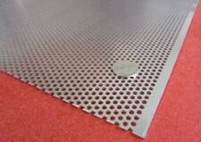 6061 Aluminum Perforated Sheet 063 Thick X 36 X 40 125 Hole Dia