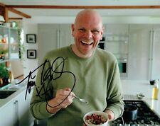 Tom KERRIDGE TV Celebrity Chef SIGNED Autograph 10x8 Photo 2 AFTAL COA