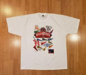 Vintage Profesional Negro League Baseball All Star T Shirt PNLPA Mens 2XL