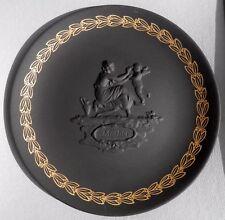 Vintage, Wedgwood Black Basalt Jasperware Mother's Day Plate, Orig. Box & Papers