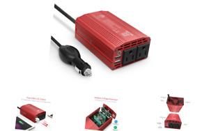 BESTEK 300W Power Inverter DC 12V to 110V AC Car Inverter with 4.2A Dual USB ...
