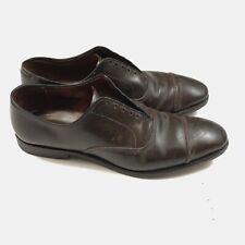 Allen Edmonds Park Avenue Cap Toe Brown Shell Cordovan Shoes Men's 10.5 B MiUSA