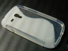 Samsung Galaxy S3 Mini Tasche Case Handy Cover Schutz Hülle Etui milchig / klar