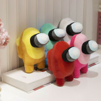 "AMONG US 7.8"" Mini Plush Doll Soft Stuffed Set of 5 Colors Toy Game Figure Gifts"