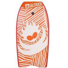 """Saltrock Surfing 41""""  Kids & Adults Bodyboard Body Board Boogie Board Orange NEW"""