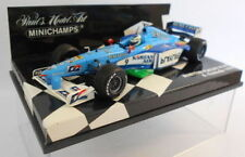 Benetton Plastic Diecast Racing Cars with Unopened Box