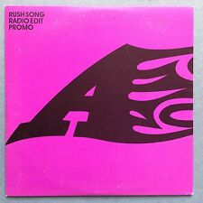 A: Rush Song (Radio Edit) - Pochette Carte - Promo CD