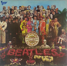 The Beatles Sgt. Peppers Lonely Heartclub 12 Zoll LP  K100 washed - cleaned